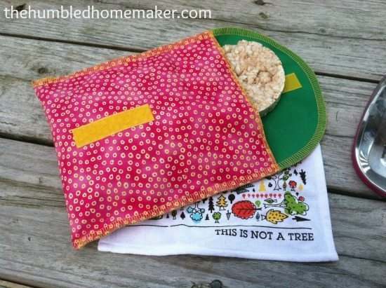 resusable sandwich bag from Mighty Nest