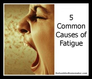 5 Common Causes of Fatigue