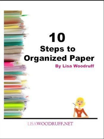 Once you create systems for your paperwork you will be less overwhelmed and feel more in control of your day to day schedule.