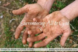 Surrendering All to God
