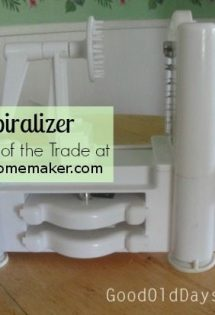 The Spiralizer: Add a Decorative and Practical Touch to Healthy Home Cooking {Kitchen Tools of the Trade}
