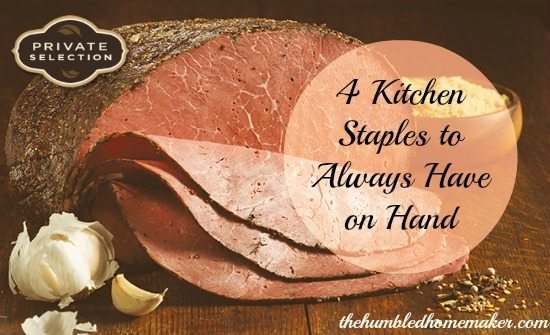 4 Kitchen Staples to Always Have on Hand