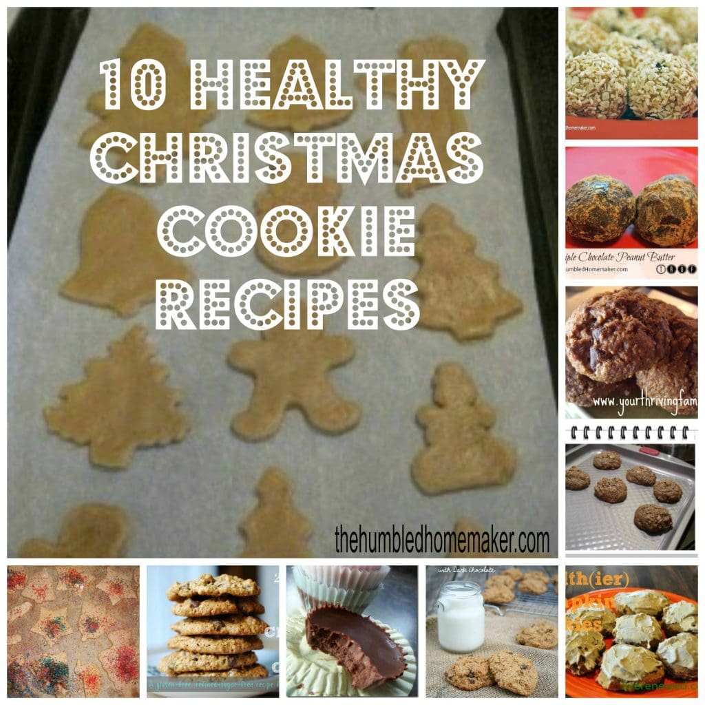 Healthy christmas recipes for cookies
