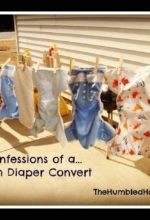 New Series: Confessions of a Cloth Diaper Convert