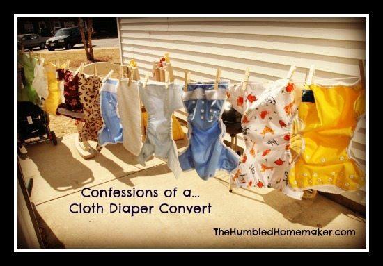 Confessions of a Cloth Diaper Convert - TheHumbledHomemaker.com