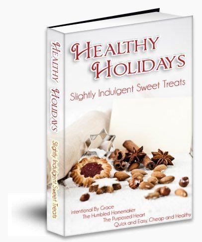 Healthy Holidays - Slightly Indulgent Sweet Treats