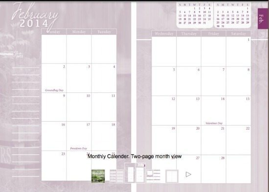 Homemakers Friend is a beautiful yet functionable planner