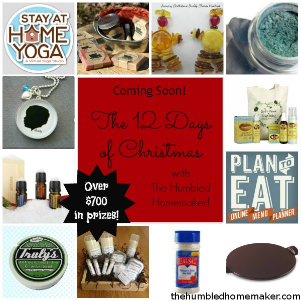 The 12 Days of Christmas at TheHumbledHomemaker.com