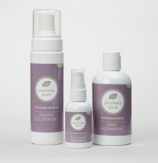 Jenuinely Pure is one of my favorite brands of non-toxic skincare.