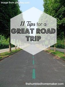 11 Tips for a Great Road Trip