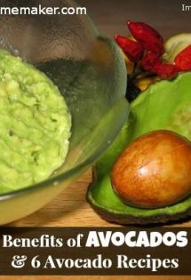 Benefits of Avocados & 6 Avocado Recipes