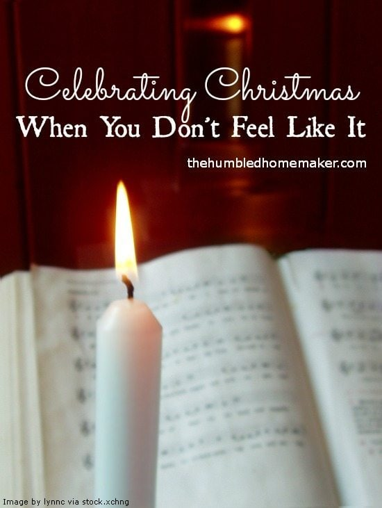 Maybe this Christmas season you want to celebrate through singing…but all you hear is silence.   I have been there.