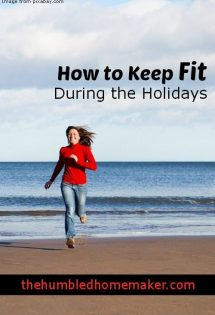 How to Keep Fit During the Holidays