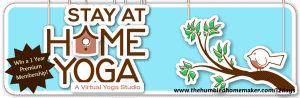 On the 11th Day of Christmas Stay-at-Home Yoga is giving you…