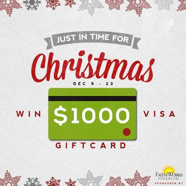Win a $1,000 Visa Gift Card- Just in time for the holidays! Visit thehumbledhomemaker.com to enter to win!