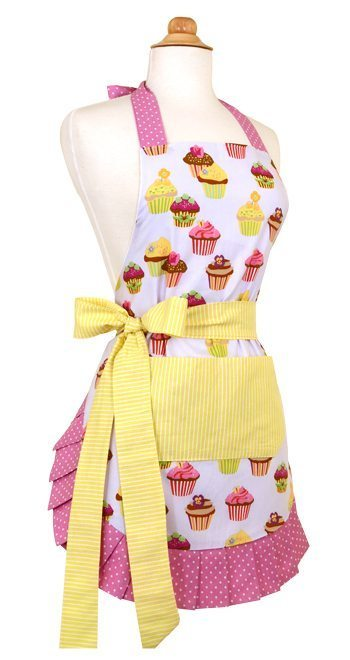 A cute apron makes a great Valentine's Day gift for women!