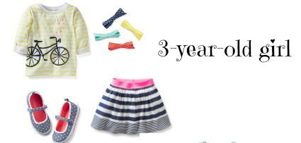 outfit for 3-year-old girl