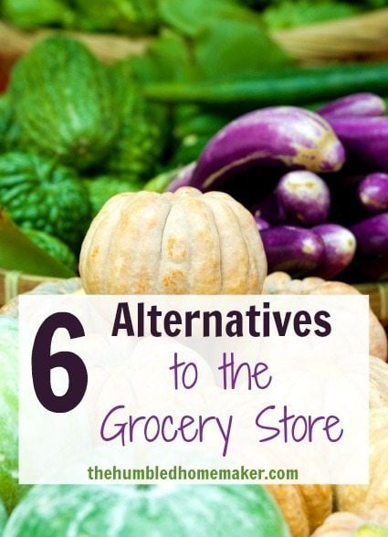 6 Alternatives to the Grocery Store - TheHumbledHomemaker.com