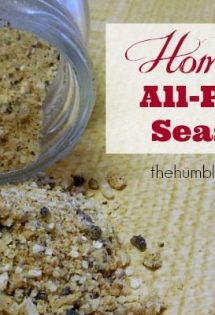 Homemade All-Purpose Seasoning - TheHumbledHomemaker.com