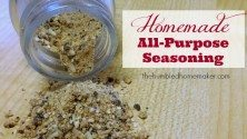 Homemade All-Purpose Seasoning - TheHumbledHomemaker.com