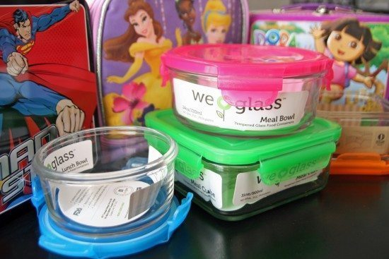 If properly cared for, glass food storage containers will last you much longer than plastic!