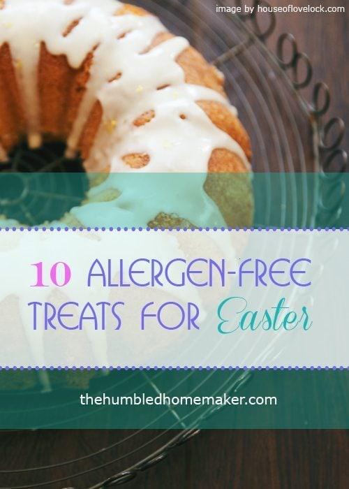 10 allergen-free Easter treats - TheHumbledHomemaker.com