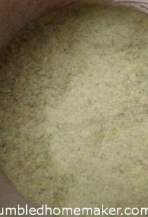 DIY Celery Powder - TheHumbledHomemaker.com