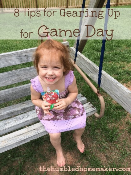 8 Tips for Gearing Up for Game Day  The Humbled Homemaker