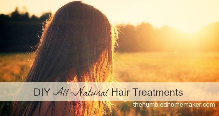 DIY All-Natural Hair Treatments - TheHumbledHomemaker.com