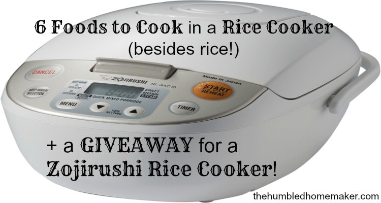 6 Foods to Cook in a Rice Cooker Besides Rice. Number 1 totally shocked me!