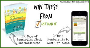 Planning an Intentional Summer with List PlanIt