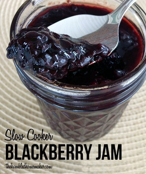 Slow Cooker Blackberry Jam