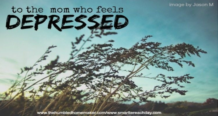 Have you ever struggled with depression? Perhaps you're in a season now where life feels bleak and hopeless. I've been there, and I can tell you there is hope for the mom who is battling depression.