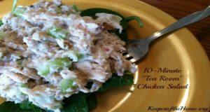 10-Minute Tea Room Chicken Salad