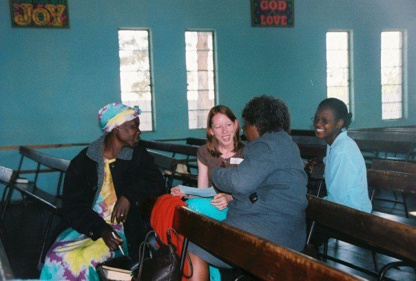 I've never really blogged about it, but missions has been very near and dear to my heart for a long time. Here's a pic from a trip to Africa in 2006.
