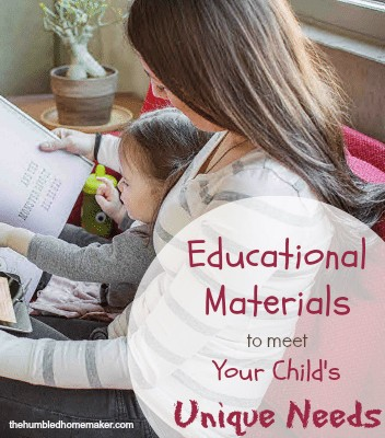 Educational Materials to meet Your Child's Unique Needs  The Humbled Homemaker Zoobean Review