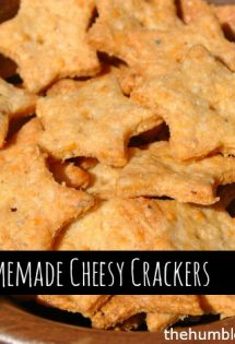 cheesy crackers - TheHumbledHomemaker.com