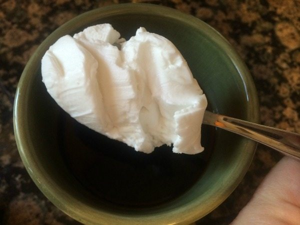 Adding Coconut Cream to Coffee