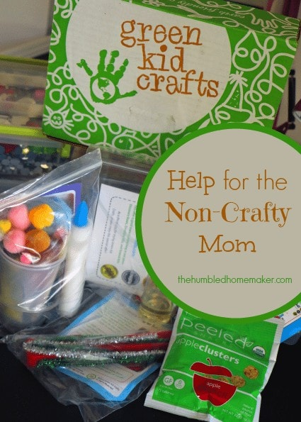 Help for the Non-Crafty Mom The Humbled Homemaker