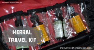 How to Make an Herbal Travel Kit