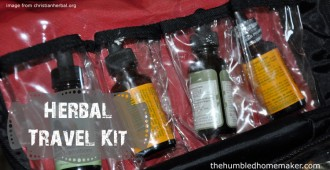 Herbal Travel Kit - TheHumbledHomemaker.com