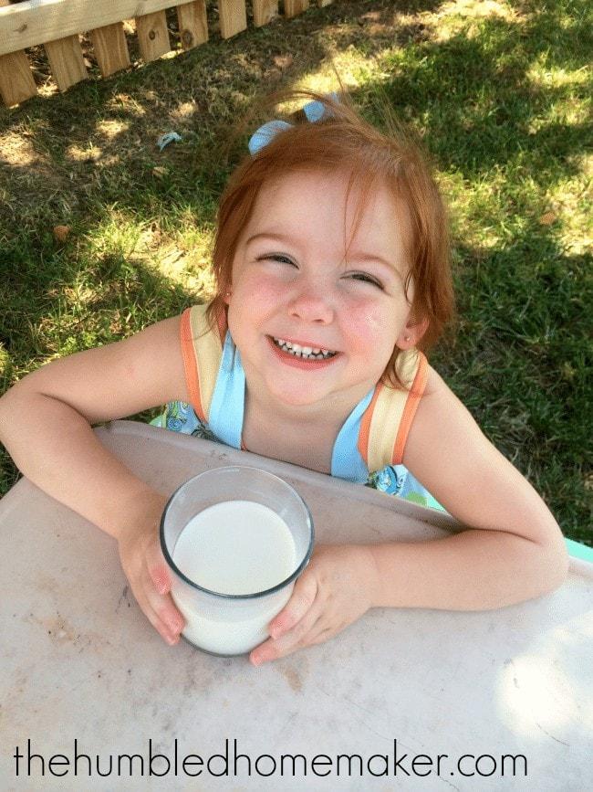 Loving her Silk Milk! The Humbled Homemaker