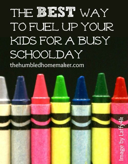 The best way to fuel up your kids for a busy schoolday