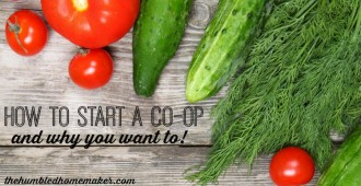 Starting a Food Co-Op - TheHumbledHomemaker.com