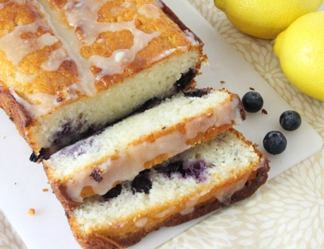 The bold flavors of lemon and blueberry combine in this moist & tender yogurt loaf to create a breakfast, snack, or dessert that everyone will love.