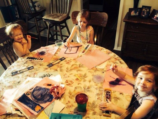 non-toy gift ideas for kids: paint supplies
