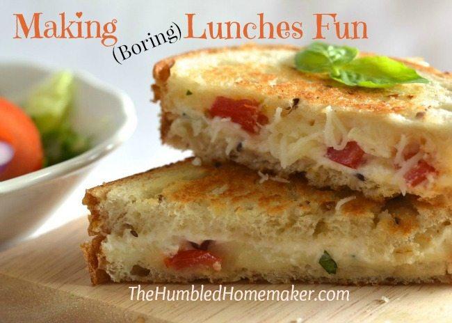 Making Boring Lunches Fun