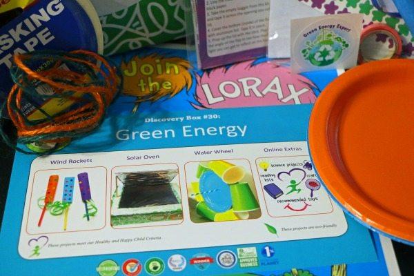 Green Kid Craft Box