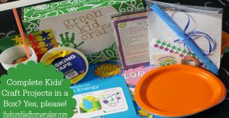 Green Kid Craft Giveaway!