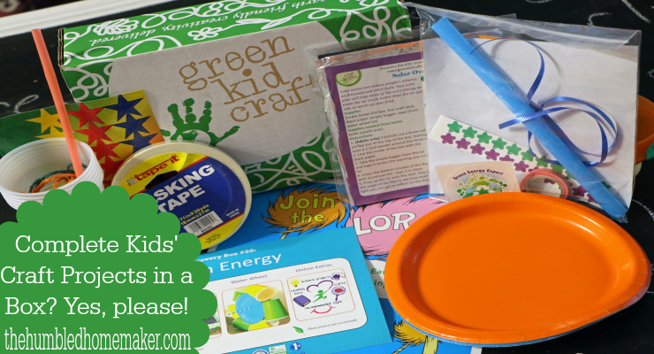 Green Kid Craft Giveaway!